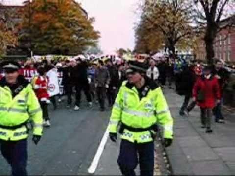 Manchester United - Anti-Glazer Protest Old Trafford, Oct 2010
