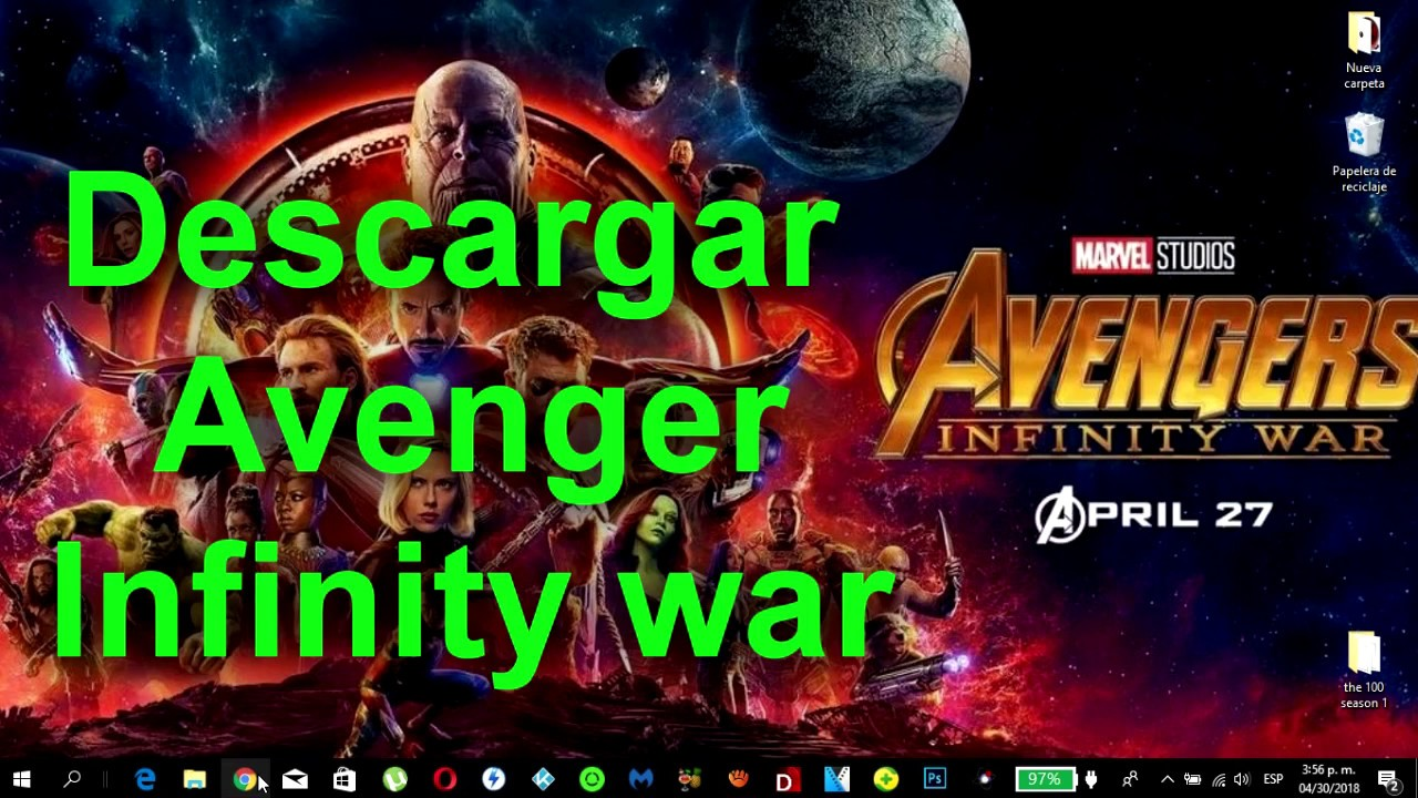 Descargar avengers 3 infinity war calidad cam en espa ol - Descargar infinity war ...