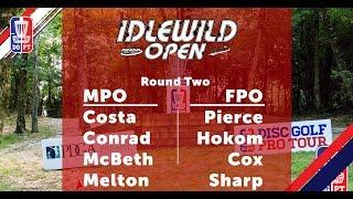 Round Two 2018 Idlewild Open FPO MPO Coverage