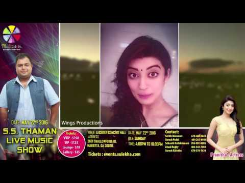 S.S. Thaman Live In Concert Final Promo