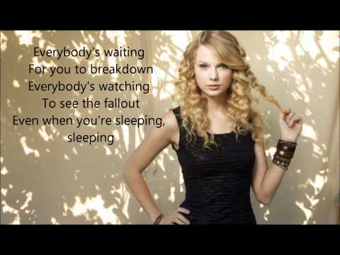 Eyes Open - Taylor Swift Lyrics