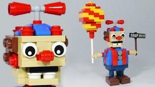 كيفية بناء ليغو بالون الولد (BB) | ليغو FNAF DIY البرنامج التعليمي