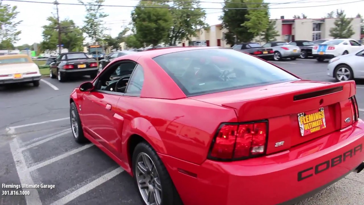 03 svt cobra w 7900 miles for sale with test drive driving sounds and walk through video