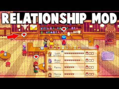 Stardew Valley BETTER RELATIONSHIPS Mod + Relationship Rant - PART OF THE COMMUNITY
