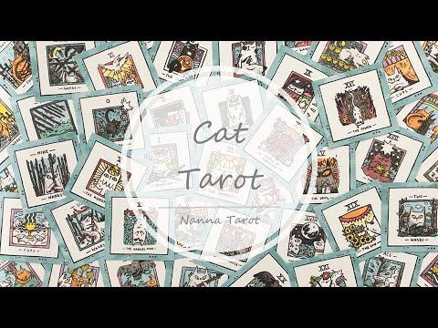 開箱  萌萌貓塔羅牌 • Mini Cat Tarot // Nanna Tarot