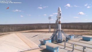 First launch of Soyuz 2.1A from New Vostochny Cosmodrome, April 27, 2016