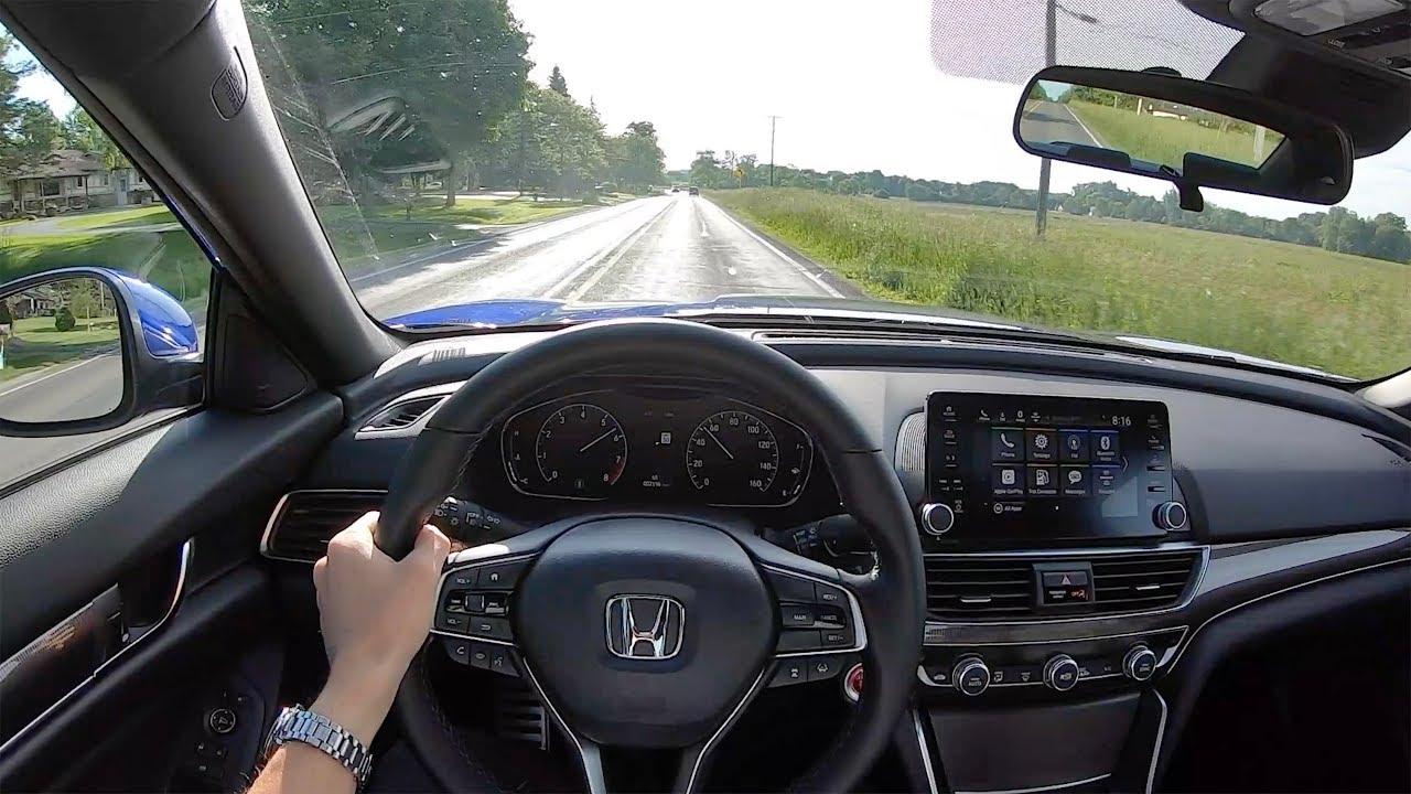 2019 Honda Accord 2 0t Sport 6 Speed Manual Pov Test Drive Binaural Audio