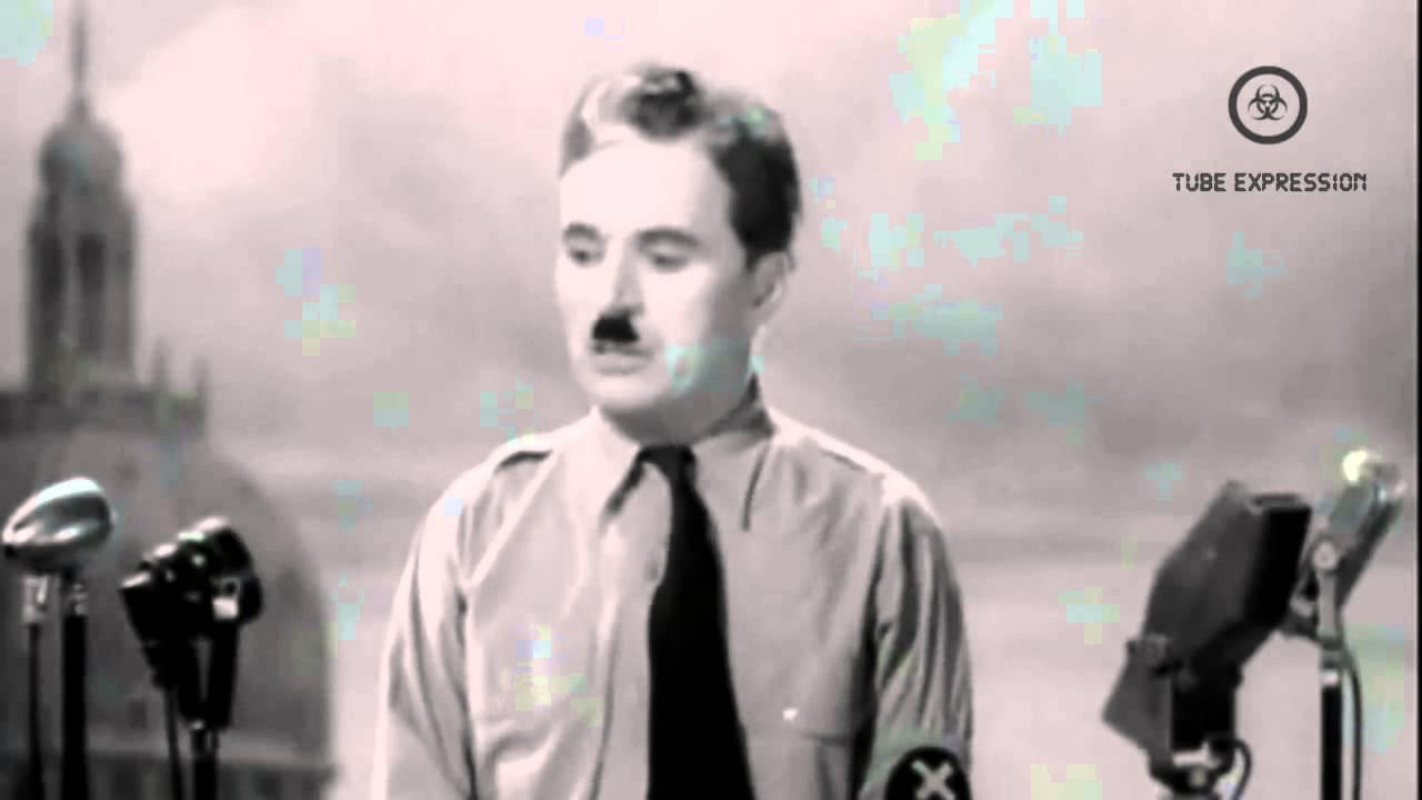 charlie chaplin dictateur