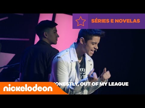 Kally's Mashup |  Catch Me If You Can (Lyrics) | Brasil | Nickelodeon em Português