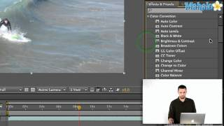 how to use effects and presets in adobe after effects