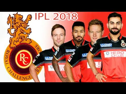 RCB predicted squad IPL 2018| Royal Challengers Bangalore team player list 2018 prediction