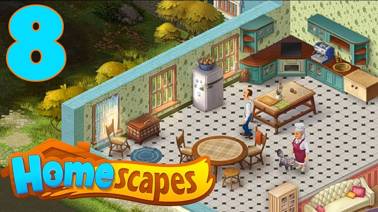 Homescapes Story Walkthrough Part 8 Gameplay Opening