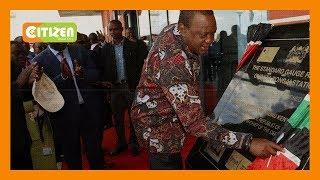 President Uhuru launches Nairobi-Naivasha SGR train