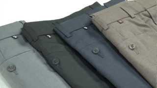 Farah Elastic Waistband Trousers