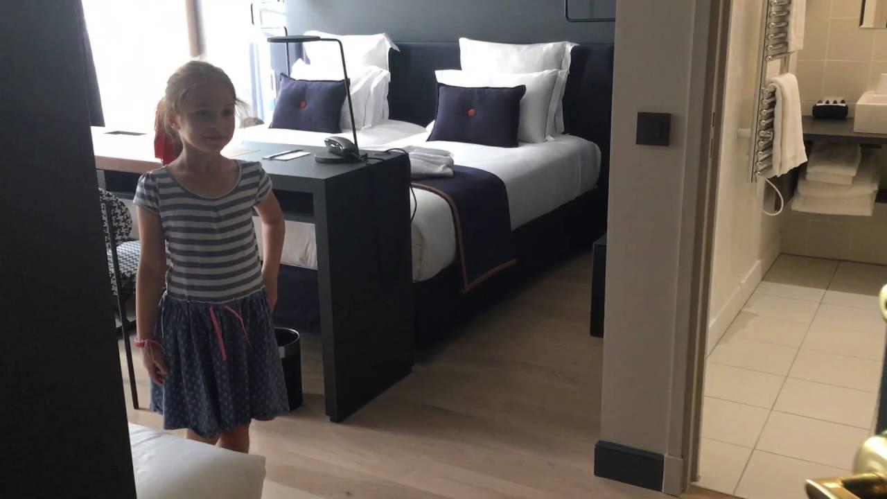 Une chambre luxe de l\'hôtel square Louvois - YouTube