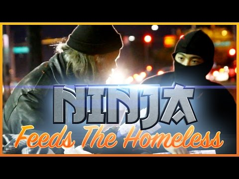 Thumbnail: Ninja Feeds The Homeless!
