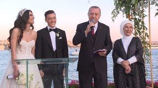 Cumhurbaşkanı Erdoğan, Mesut Özil