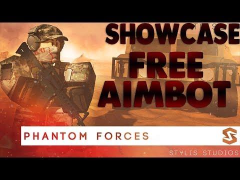 SHOWCASE: ✅ Phantom Force Aimbot ✅ OP FREE ✅