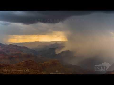 07-21-2021 Grand Canyon National Park, AZ Lightning Timelapse - Monsoon 2021