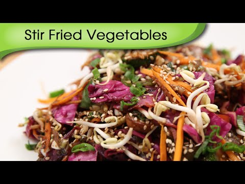 Stir Fried Vegetables | Quick Easy To Make And Healthy Mixed Vegetables Recipe By Ruchi Bharani