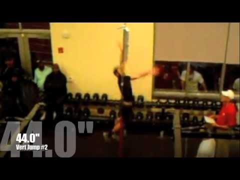 CODY PEARCY- WR 2012 PRO-DAY VERT JUMP- 44.0