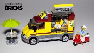 Lego City 60150 Pizza Van Lego Speed Build
