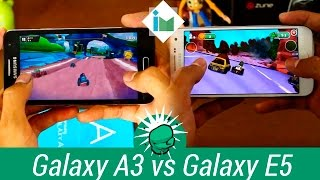 Samsung Galaxy A3 vs Galaxy E5