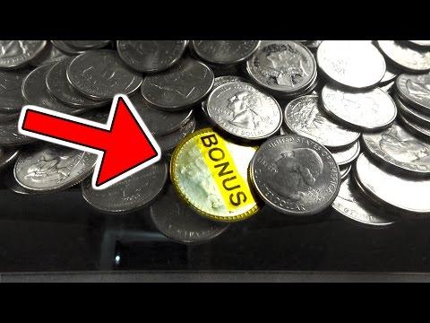I WON THIS BONUS COIN FROM AN ARCADE COIN PUSHER!   MATT3756
