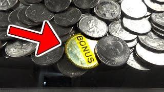 BONUS COIN WIN FROM AN ARCADE COIN PUSHER! | MATT3756