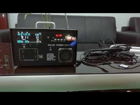 mini solar home system