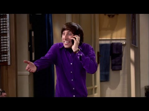 The Big Bang Theory  Howard`s Indian accent