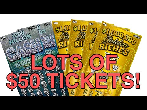 I Bought $50 Texas Lottery Tickets Until I Won On Them All!