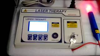 Physiotherapy Equipment Laser therapy 100 mw Video  By Biotronix India