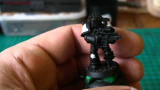 Tip of the day: How I paint my Black Templars.