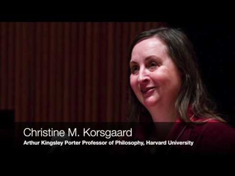 Christine M. Korsgaard on the Moral Standing of Animals, Human Beings, and Persons (AUDIO ONLY)