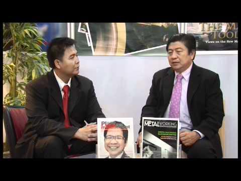 Asia Pacific Metalworking Interviews Mr.Viroj, Thai Tool and Die Industry Association (1/5)