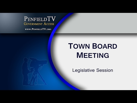 2017-02-01 PEN Town Board Legislative Meeting
