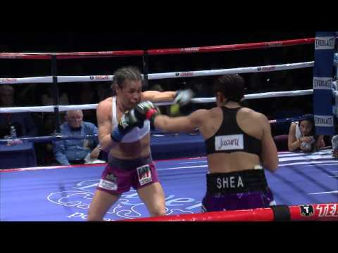 ICe vs Fire boxing. Nohime Dennisson VS Marine Shea