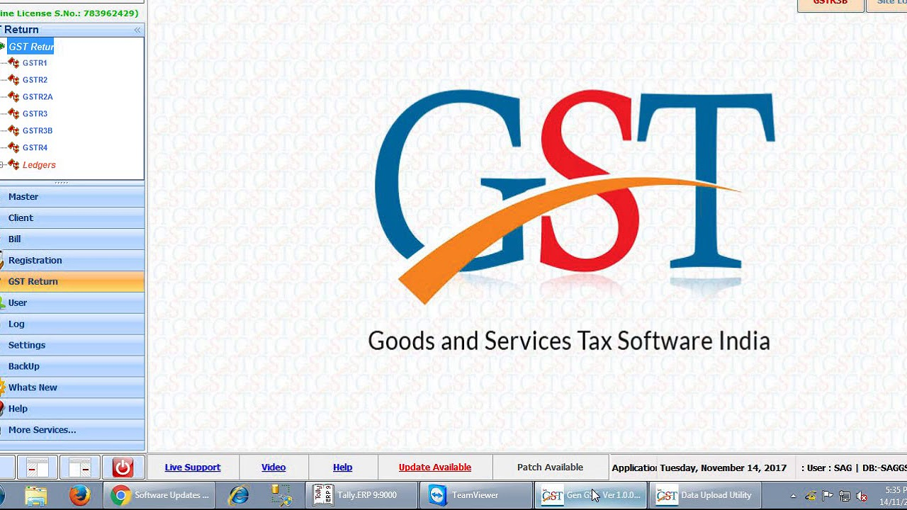 How To Import Receiver Data From TALLY in Gen GST Software