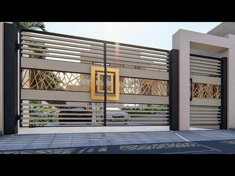 100 Modern gates designs ideas 2021 (Decor Puzzle)