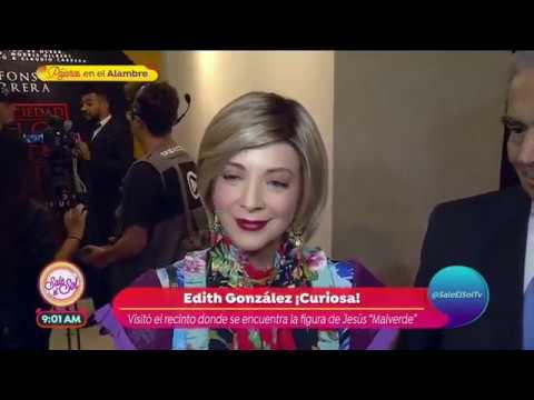 ¡Edith González habla de su supuesta muerte!  Sale el Sol