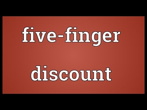 Five-finger discount Meaning