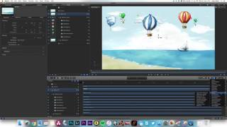 Animate A Camera Through Layers in Apple Motion