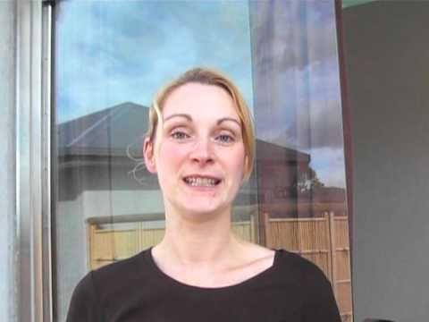 Happy customer enjoyed Organic Facial Treatment at Harmony Hill Organic Spa retreat atTasmania