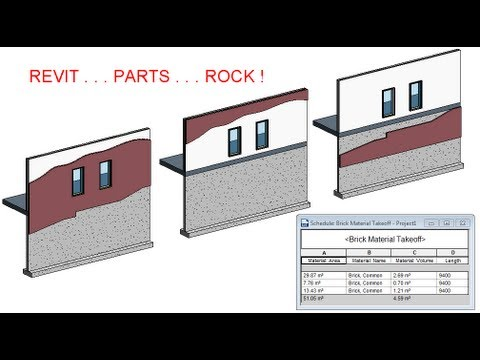 Revit 2014 Parts For Wall Cladding Rocks Cadclips