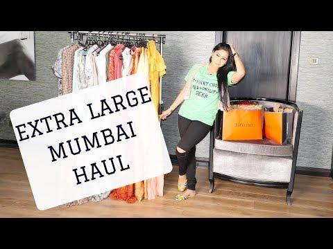 MUMBAI EXTRA LARGE HAUL + AMRITSAR HAUL | Sonal Maherali