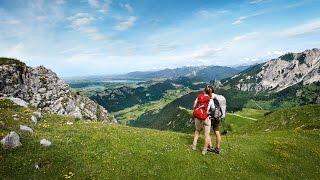Wandern im Allgäu auf der Wandertrilogie – Urlaub in Bayern, Alpen