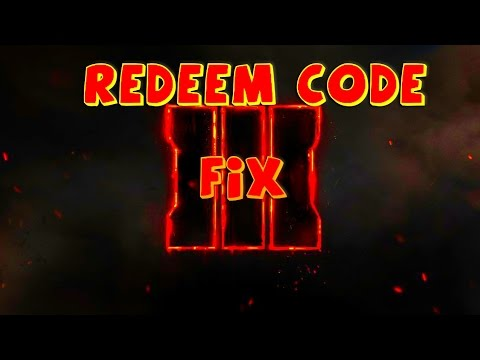 SOLUTION TO PROBLEM REDEEM BETA BO3 CODE XBOX ONE #BO3Beta