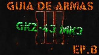 guia de armas zombie ep 8 gkz 45 mk3  cod bo3 zombies  reshi