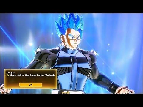 How To Unlock Super Saiyan Blue Evolution (SSGSS Evolved)! Dragon Ball Xenoverse 2